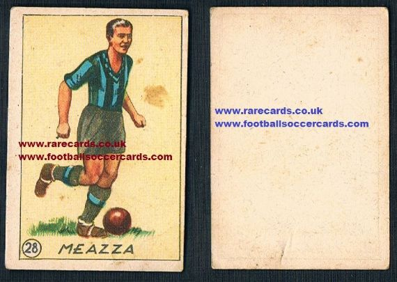 1932 Balilla 28 Meazza illustrated